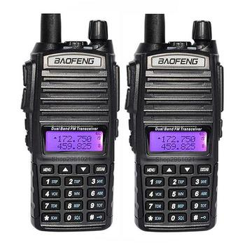 Best Long Range Handy Talky Two-way Radio Baofeng 8Watt VHF/UHF Dual Band Baofeng UV82 Walkie Talkie UV 82 Baofeng UV-82