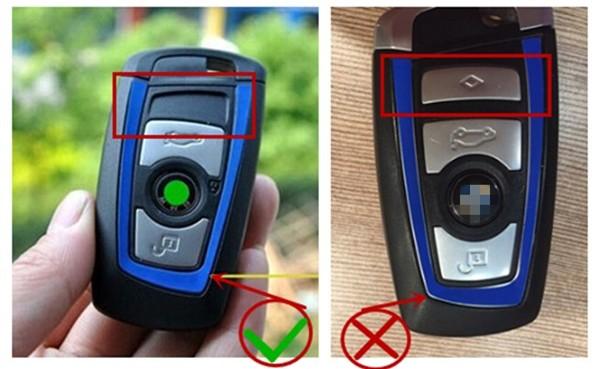 1 set car modified ///M emblem car key decal 3D sticker for BMW F10 F20 F30  E49 E90 1/3/5 series X1 X3