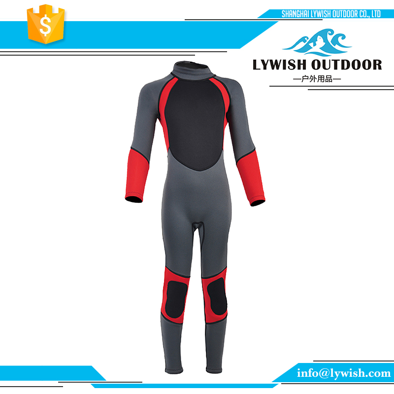 Excellent quality kids neoprene diving wetsuit
