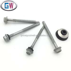 Class4 Galv Hex Washer Self Drilling Roof Screw with Neo washer