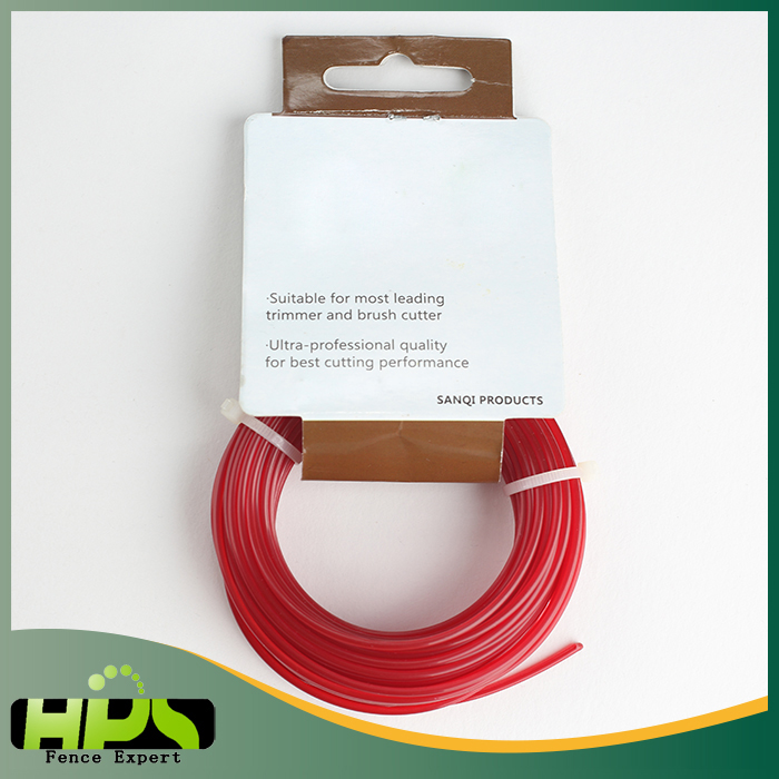 Hot selling electric fence Nylon grass trimmer line for bush cutter