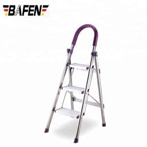 Admirable Export Folding Stainless Steel Ladder Extension Agility Super Folding Step Ladder Bralicious Painted Fabric Chair Ideas Braliciousco