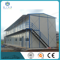 low cost prefab bungalow sandwich panel house with economic price