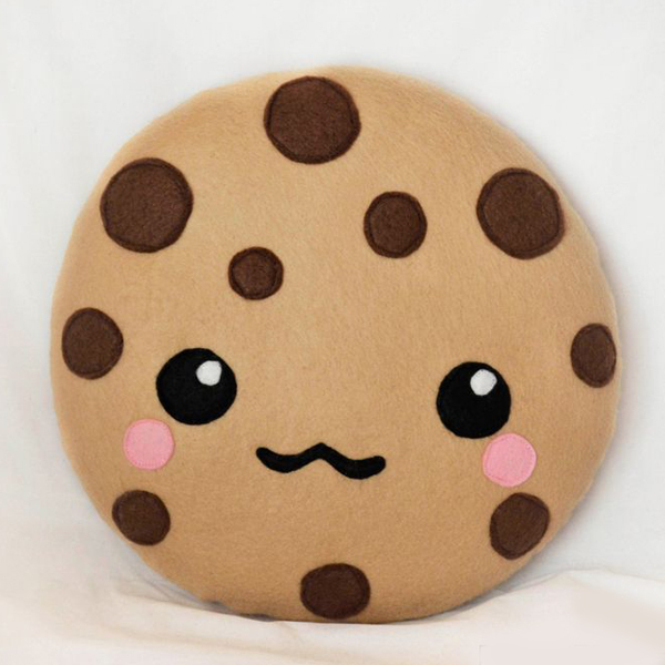 Plush Food Toys : Oem funny emoji cotton plush stuffed food toys cookie