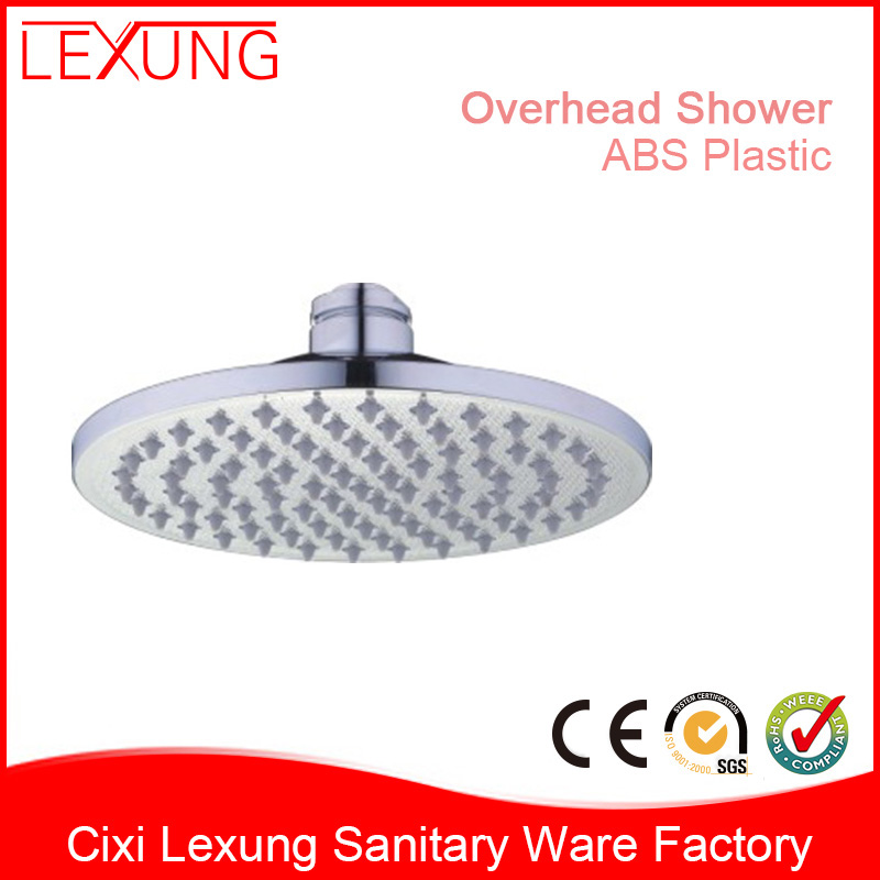 ABS Plastic Chromed Overhead 8 Inch Top Shower Head D503