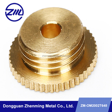 Precision CNC Lathe Machining Part for High polished brass Parts