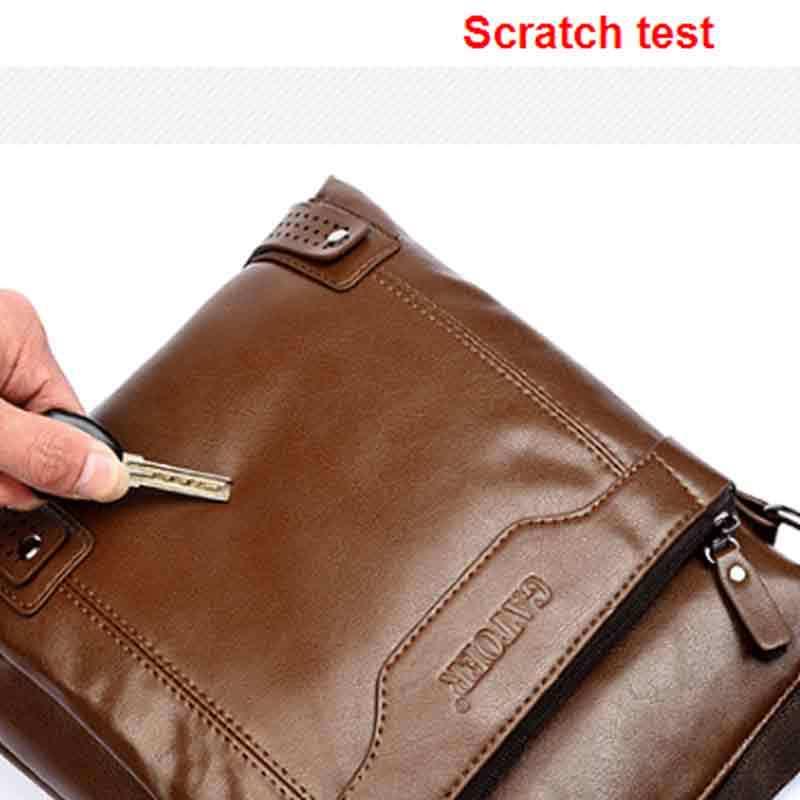 Натуральная кожа мужчины сумка-мессенджер свободного покроя бизнес плеча сумки для человека, Мужчины в путешествие сумки Bolsas