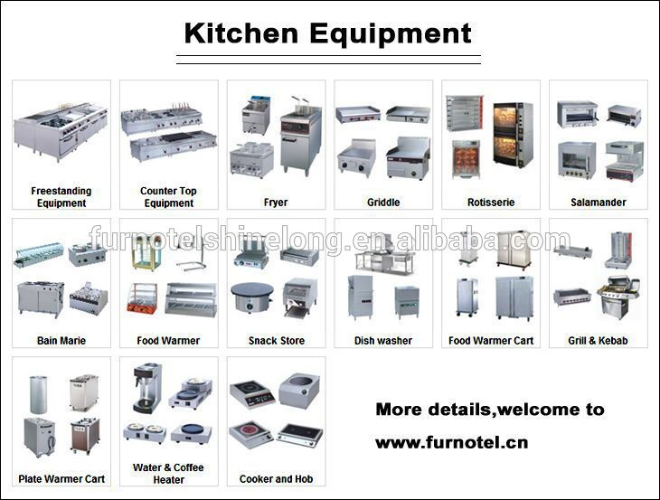 Hot sale of banquet equipment buy banquet equipment the for Kitchen equipment list