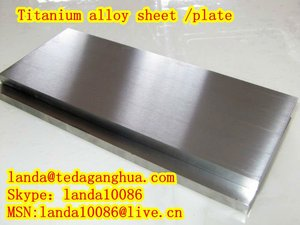 5mm thick Titanium Sheet/Plate