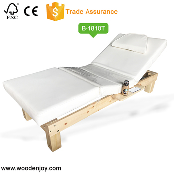 2018New Electric beauty bed massage bed Environmental protection plate Electric adjustment of legs and back B-1810T