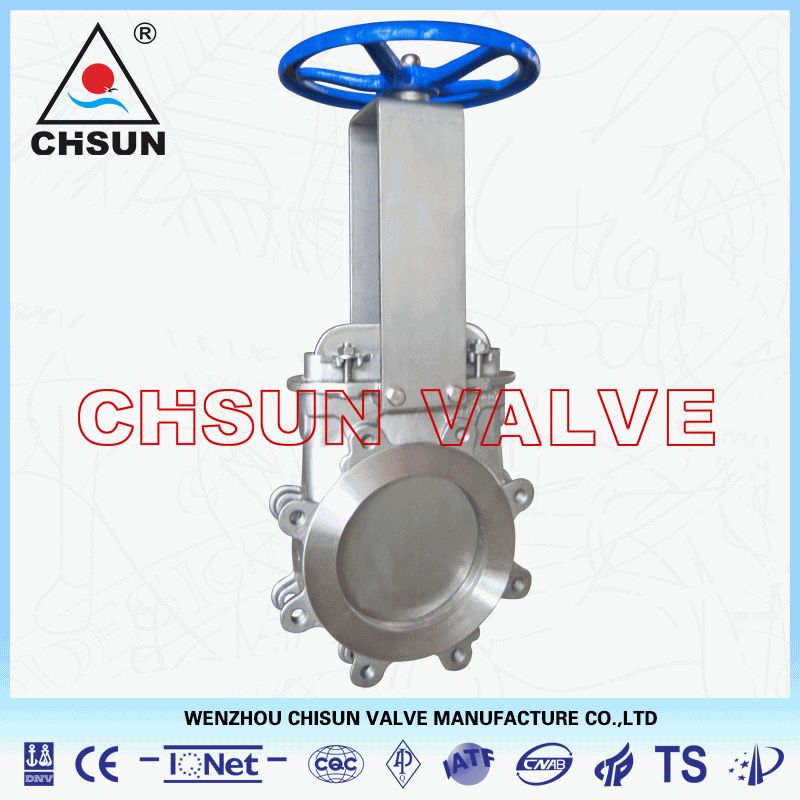 QB Stainless Steel Knife Gate Valve for Paper Making