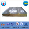 Rock wool sandwich wall and roof panel for large chicken farm, steel storage