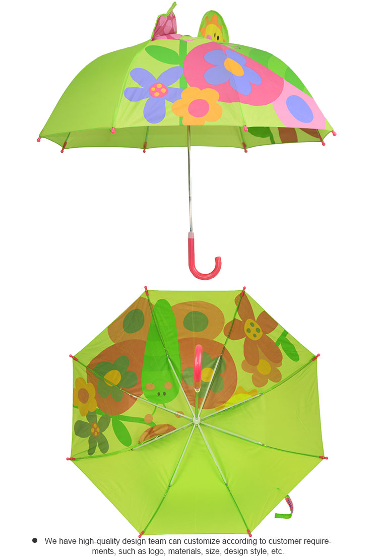 19 Inches Lovely Outdoor Children Mini Cute Anto Open Umbrellas