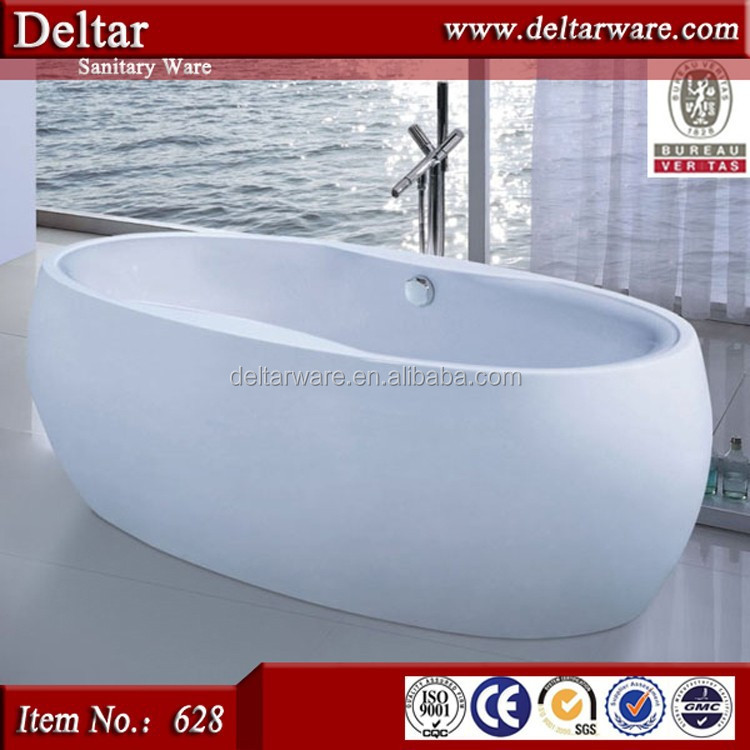 100% acrylic badewanne bathtub, bathtub with drain, cheap bathtub egg shape bath