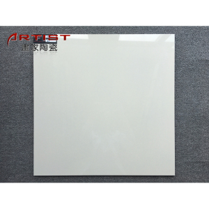 600X600mm different sizes super White double loading South Africa bathroom polished floor tiles