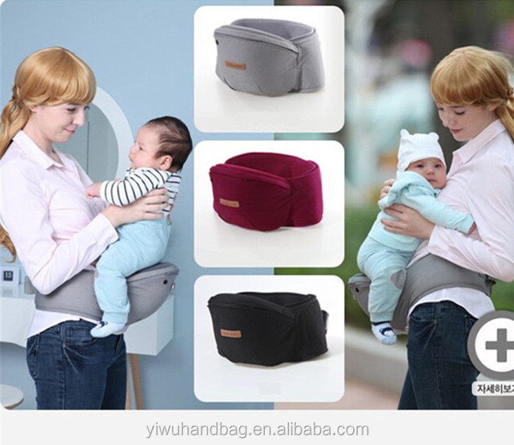Ergonomic 100% cotton baby products sling wrap egg handle baby carrier bag