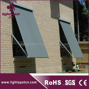 buy online d9981 f64c9 Outdoor Motorized Drop Arm Window Awning Sunshade - Buy Adjustable  Sunshade,Outdoor Awning,Sunshade Window Awning Product on Alibaba.com