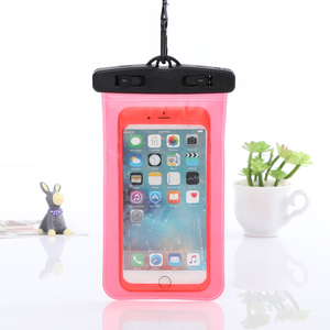 Outdoor Swimming Mobile Phone Protection Bag PVC Diving Mobile Phone Waterproof Cover Touch Sealed Mobile Phone Waterproof Bag