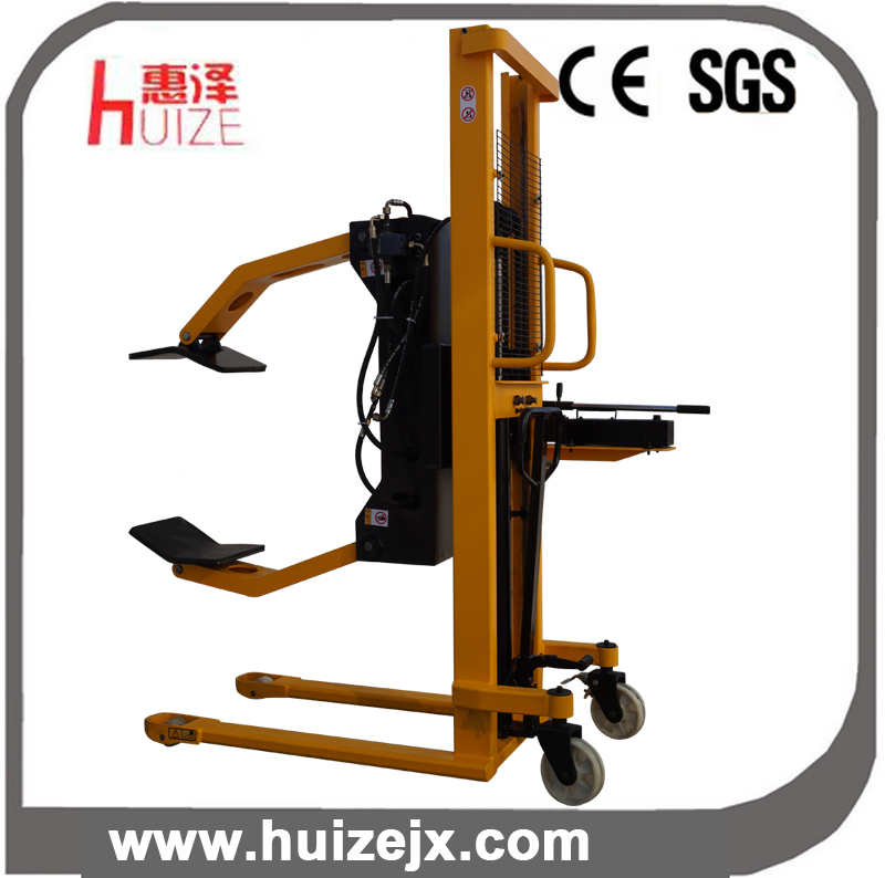 Hand Hydraulic Paper Roll Handling Equipment: Hand Hydraulic Roll Paper Lift Tilter