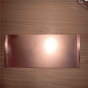 China supplier 99.9999% pure copper copper cathode with service