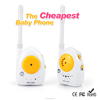 2 channels baby walkie talkie,The cheapest Baby Phone