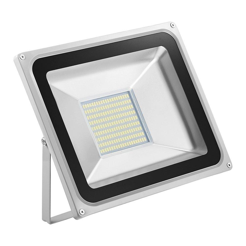 LED Flood Light,CHUNNUAN, 20W 30W 50W 100W 150W 200W 300W 500W ,6000-6500K (Cold White ), IP65 Waterproof ,Aluminium Strahler 110V (100w)