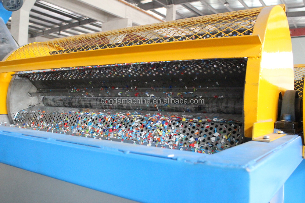 Pet Bottle Scrap Cleaning Machine Flakes Cleaning Line