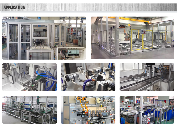 good quality Supplying machine guard silver anodized aluminium profile