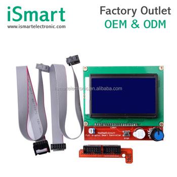 3d Printer Part Smart Controller 12864 Lcd Display For Ramps 1 4 - Buy 3d  Printer Part,12864 Lcd Display,Ramps 1 4 Product on Alibaba com
