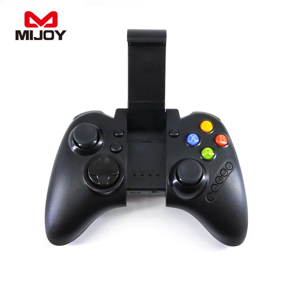 2017 hot game controller for cell phone remote tv box smart tv wireless bluetooth gamepad