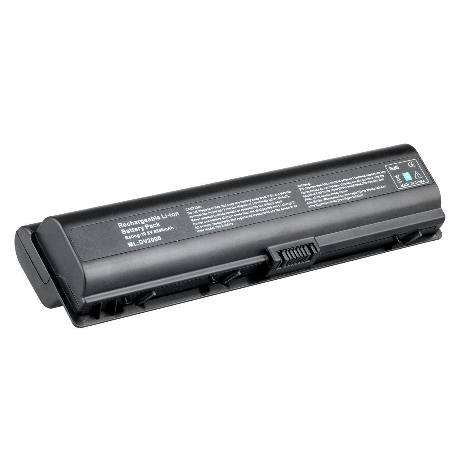 Skyvast 12 Cell Extended Capacity (8800mAh) Laptop Battery for HP Pavilion DV2000 DV6000 All Series, Compaq Presario A900 C700 F500 F700 V3000 V6000 G6000 G7000