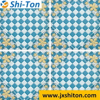 2016 most popular 3d printed mosaic polished glazed floor tiles 30x30 for bathroom and kitchen