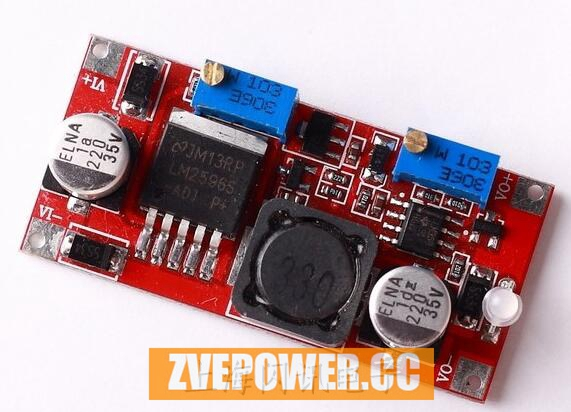 DC-DC Buck Converter 7-35V to 1.25-30V 3A 15W Step-down Constant Current Constant Voltage (CC CV) Charger Module