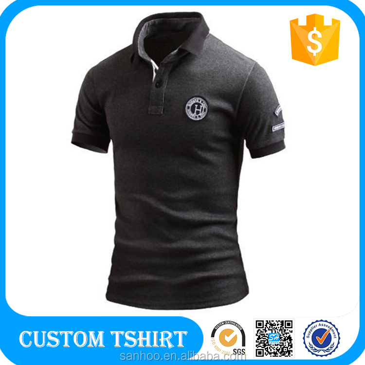 Polo Shirt To Put Logo Custom Man Polo Tshirt Printing Leisure