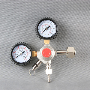 single outlet CO2 Regulator