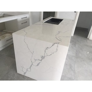 Cut-to-Size Kitchen Granite Carrara White Vanity Countertop