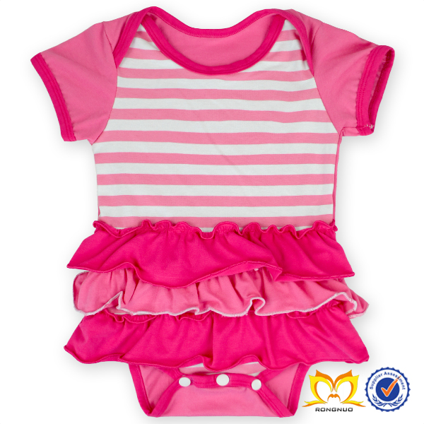 2016 Valentine Day Red And White Chevron Dress Baby Pakistani Baby Cotton  Dress Wholesale Childrenu0027s Boutique