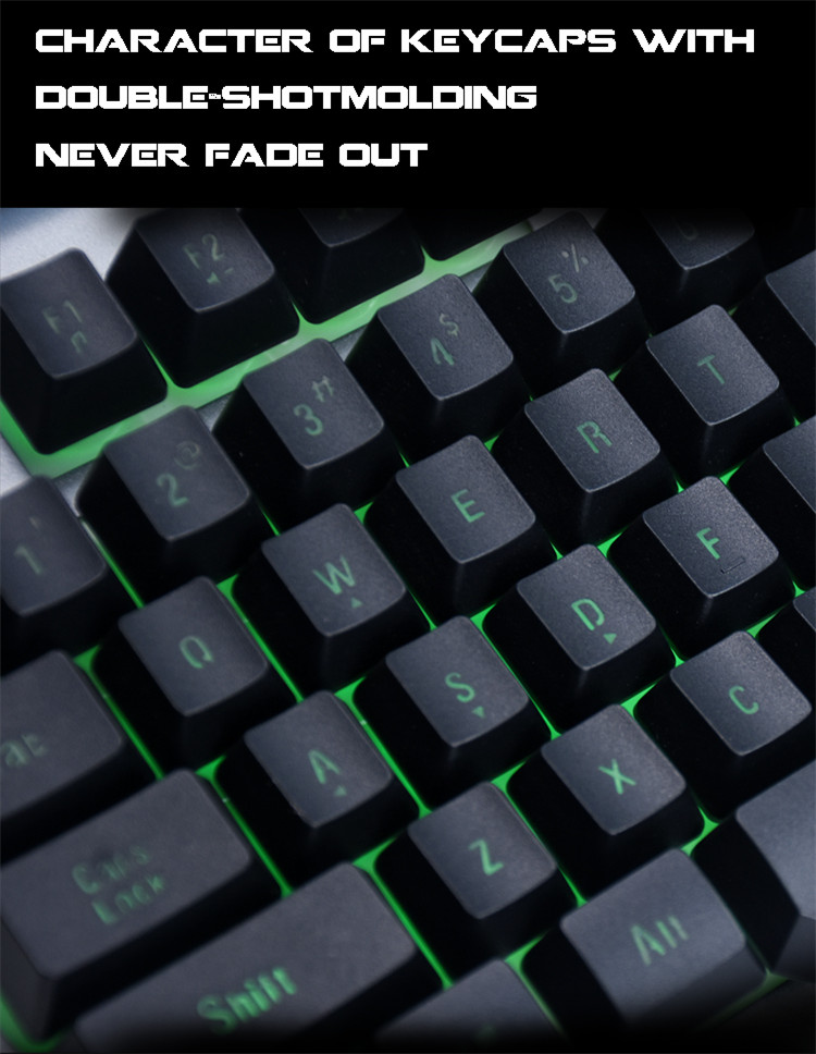 wired best membrane keyboard for gaming