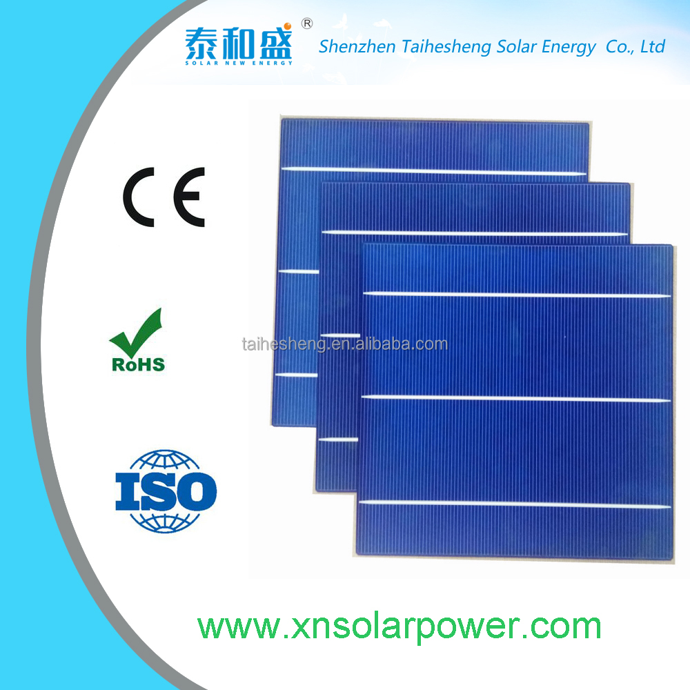 Poly 15.6/%or greater 6 x 6 in 10 cell pack Solar Cells