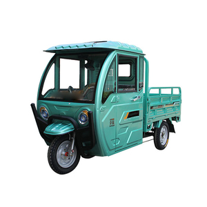 small electric cargo tricycle/multipurpose mini truck /China supply Load climbing three round electric car