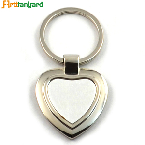 Promotional Metal Blank Sublimation Keychain