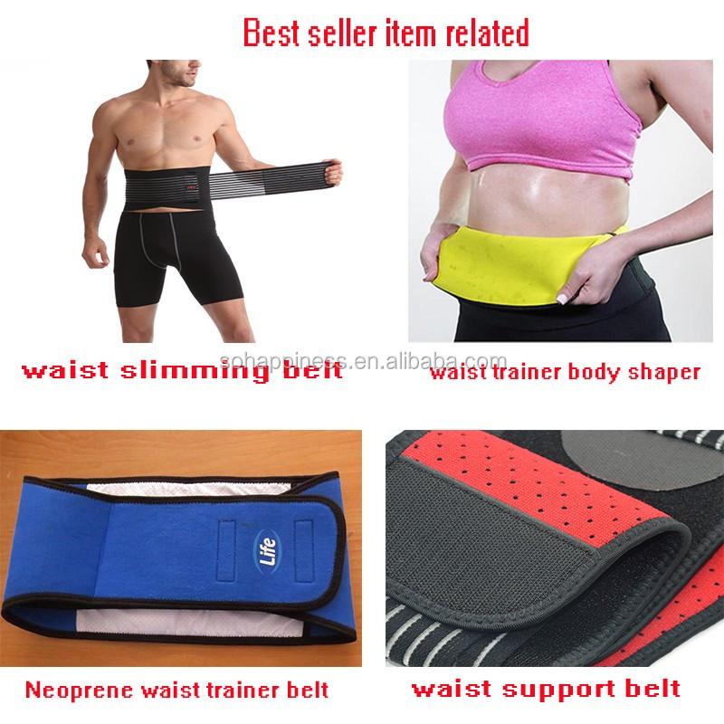ed524e953b Private Label Custom Neoprene Waist Trimmer Slimming Belt - Buy ...