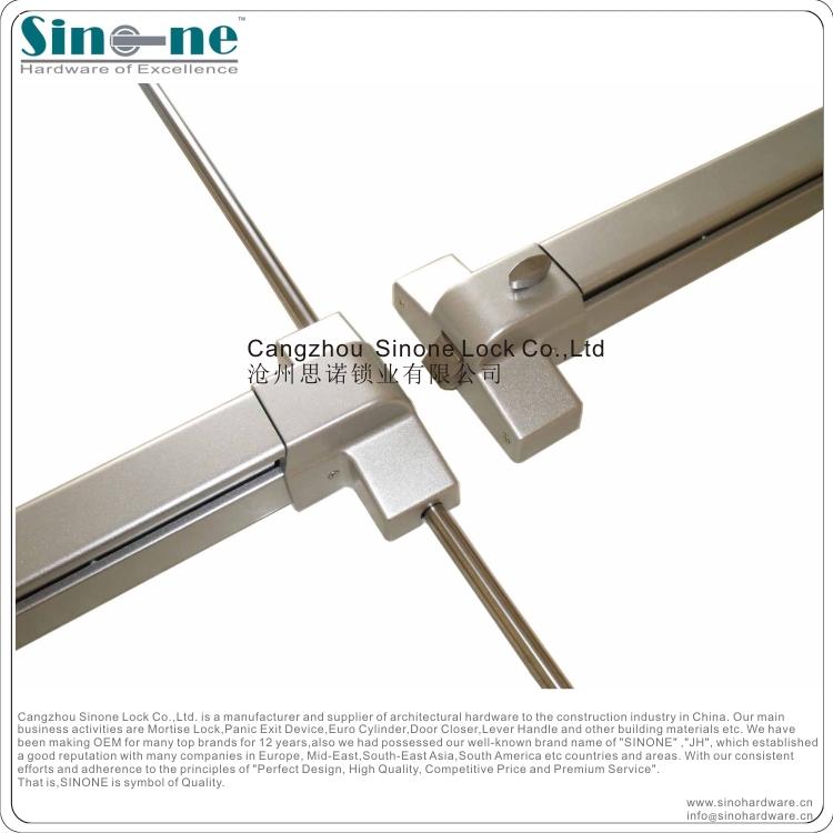 Panic Bar Push Bar For Fire Steel Door Germany Quality