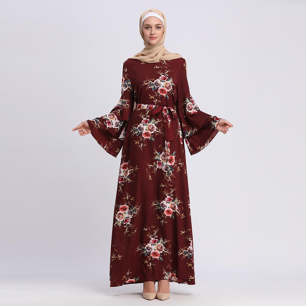 f528f48a78b9e China Abaya Printed Dress, China Abaya Printed Dress Manufacturers and  Suppliers on Alibaba.com