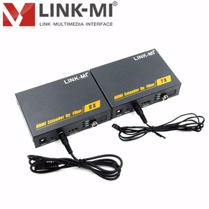 LINK-MI LM-DT200 1080p 20km Long Range Audio Video Transmitter and Receiver HDMI Fiber with IR