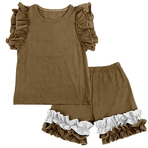bulk kids clothes wholesale summer clothing and shorts girl outfits to 0-16 years old children wear