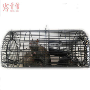 Large rat trap mesh cage animal trap