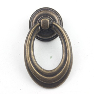 Furniture Handle & Knob Type and Metal Material cabinet door knobs dresser drawer ring pulls kitchen wardrobe door handle P031