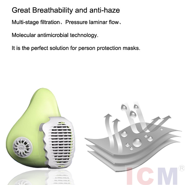 New Anti Smoke Dust Air Purifying Face Nose Mask With Activated ...