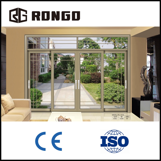 RONGO aluminum interior window and <strong>door</strong> from China manufacturer exporter - modern house style